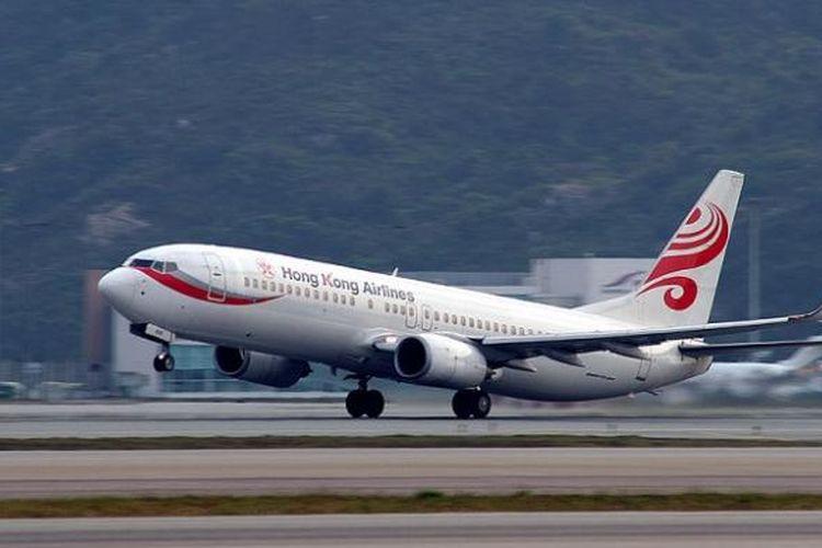 Ilustrasi: Salah satu pesawat Hong Kong Airlines