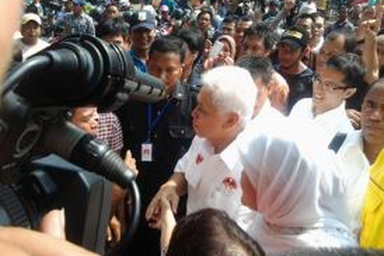 Calon wakil presiden Hatta Rajasa