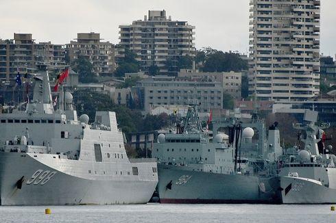 Ketika 3 Kapal Perang China Kejutkan Warga Sydney di Pagi Hari...
