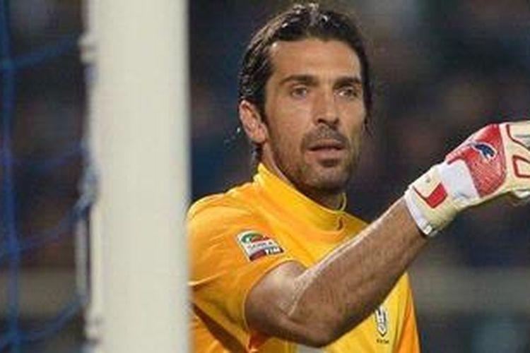 Kiper timnas Italia dari klub Juventus, Gianluigi Buffon.