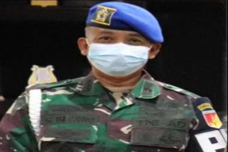 Danpomdam XIII/Merdeka Kolonel Cpm R.Tri Cahyo
