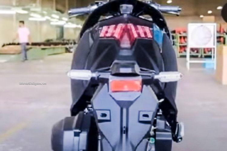 Penampakan motor yang diduga sebagai Vario 160