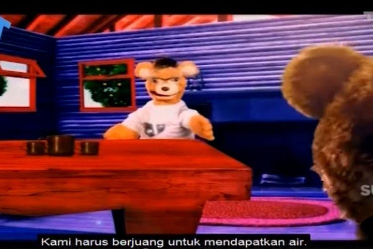Tangkapan layar Belajar dari Rumah TVRI