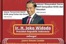 Aliansi Mahasiswa UGM: Jokowi Juara Umum Ketidaksesuaian Omongan dengan Kenyataan