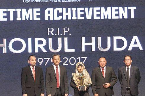 Penghargaan Khusus dari Liga 1 untuk Mendiang Choirul Huda
