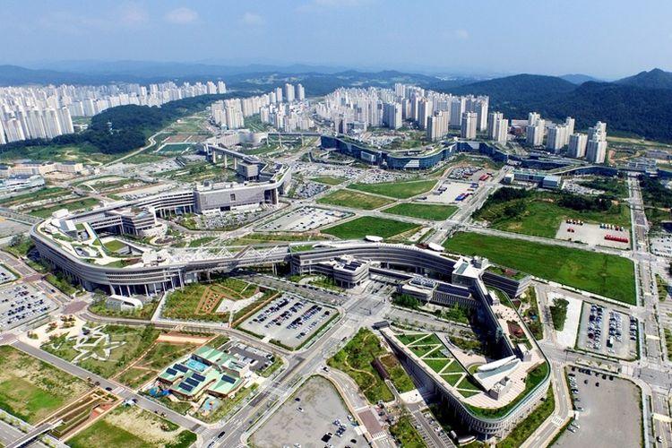 Kota Bahagia Sejong, Korea Selatan