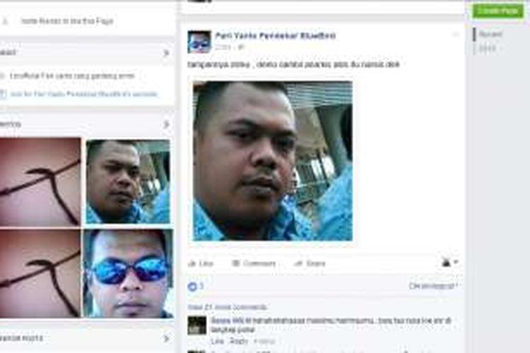 Akun Facebook Feri Yanto Pendekar BlueBird.