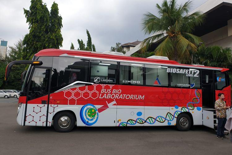 Bus Bio Laboratorium buatan Laksana