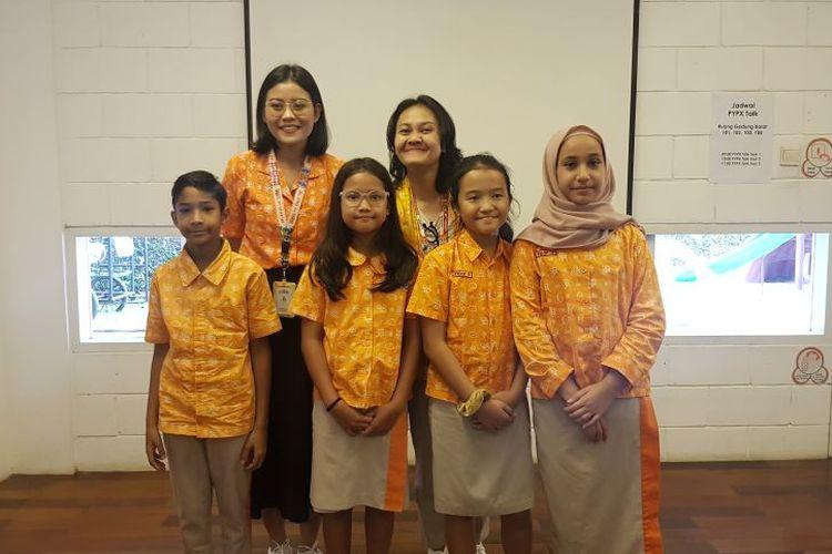 Primary Years Programme (PYP) Exhibition yang berlangsung di Sekolah Cikal, Cilandak, Jakarta, Rabu (29/1/2020).