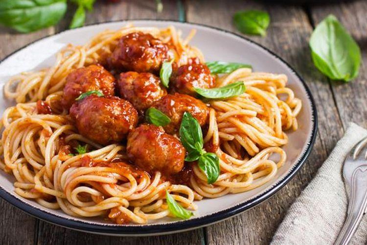 Spaghetti meatball.