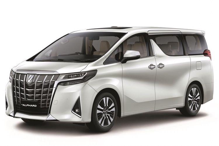 Toyota Astra Motor memperkenalkan Alphard 2020
