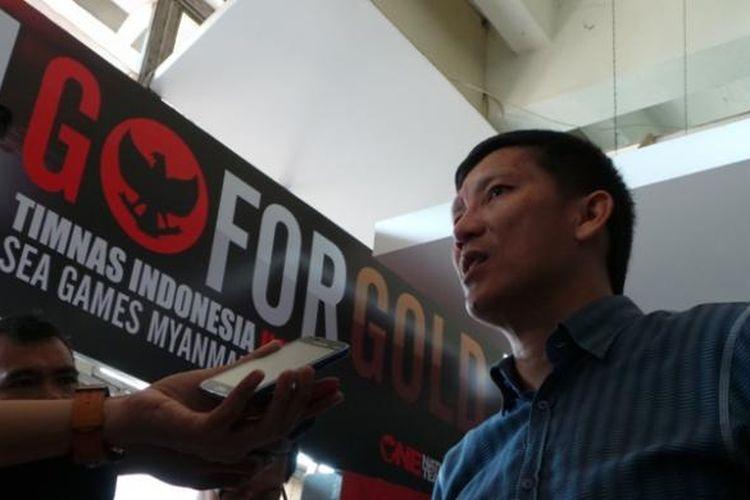 Ketua Umum sekaligus Manajer Persija Jakarta, Ferry Paulus