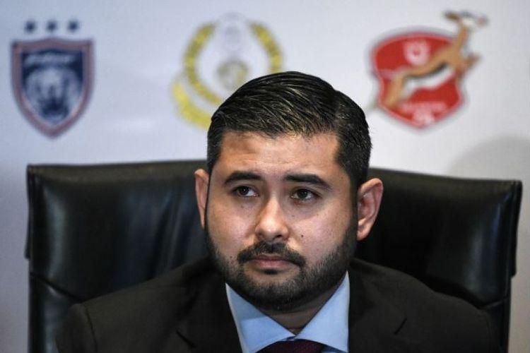 Putra Mahkota Johor Tunku Ismail Sultan Ibrahim. (AFP/Mohd Rasfan).