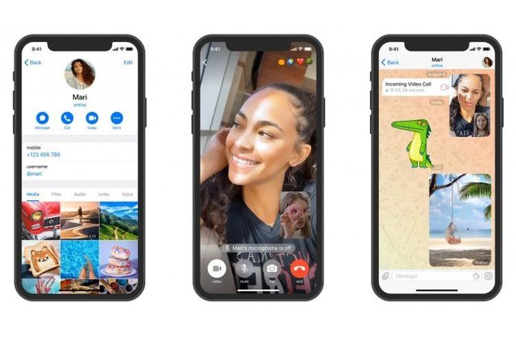 Fitur Video Call di Aplikasi Pesan Instan Telegram