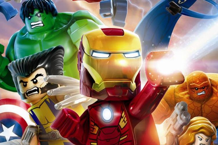 Lego Marvel Super Heroes.