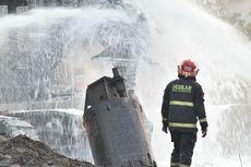Kebakaran Pipa Minyak Pertamina di Cimahi Akhirnya Padam
