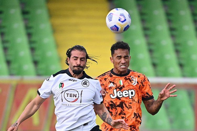 Laga Spezia vs Juventus dalam rangkaian pekan keenam Liga Italia, Minggu (1/11/2020) malam WIB.