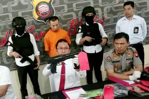 Miliki 4 Senjata Api, Katapel, dan Senjata Tajam, Pria di Pontianak Ditangkap