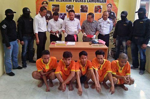 CCTV Bantu Polisi Ungkap Kasus Pencurian Baterai Lampu Jalan Raya di Lamongan