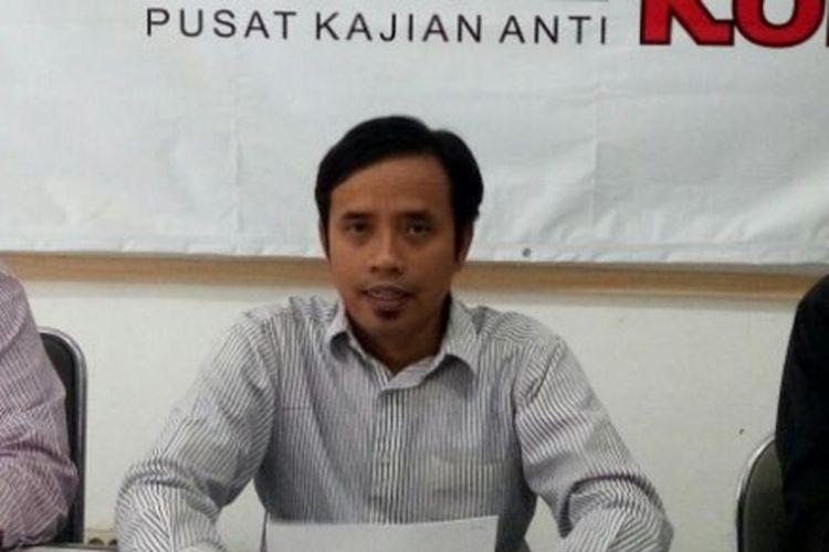 Peneliti Pusat Kajian Anti Korupsi (Pukat) UGM Zaenur Rahman.