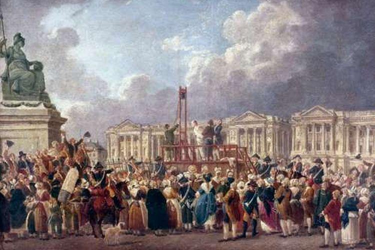 ilustrasi revolusi prancis