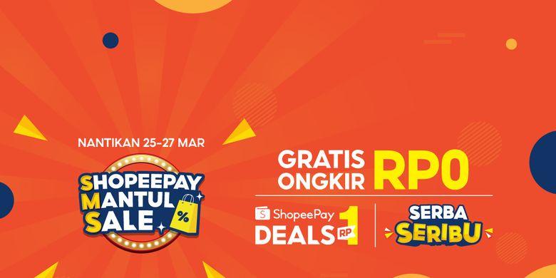 Kampanye ShopeePay Mantul Sale (SMS).