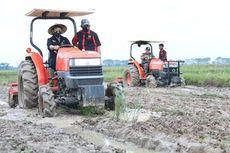Tingkatkan Produktivitas Tanam, Petani di Manokwari Gunakan Transplanter