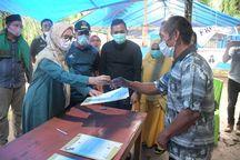 Pemkab Luwu Utara Serahkan 10 Huntap Kepada Jemaat Gereja Toraja Desa Meli