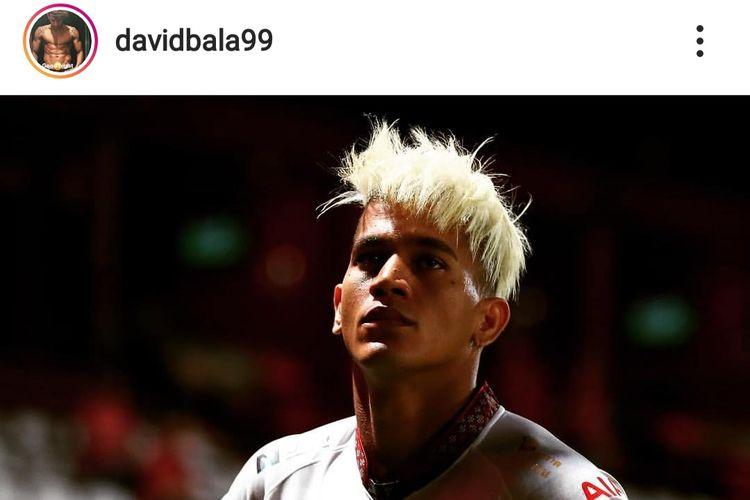 Pemain Kalteng Putra, David Bala.