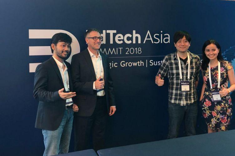 Quipper, Zenius dan Solve Education menjadi wakil Indonesia dalam ajang EdTech Asia Summit 2018 (26-27/7/2018)