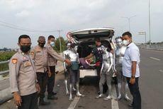 Manusia Silver Pungli Pengendara yang Keluar Masuk Tol Keramasan, Polisi: Miris, Pelaku Masih Remaja