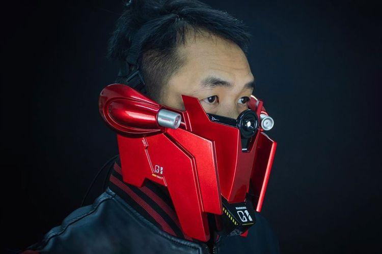 Sinanju Gundam Ranger Face Mask