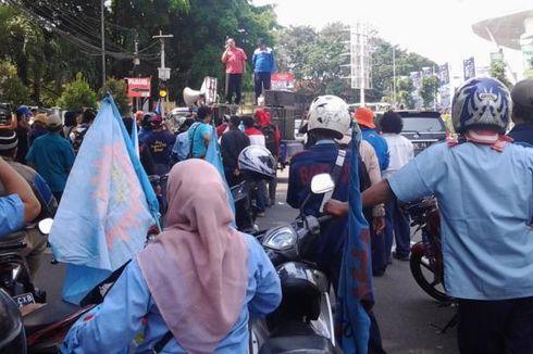 Peringati May Day, Buruh Tangerang Gelar Demo di Jakarta