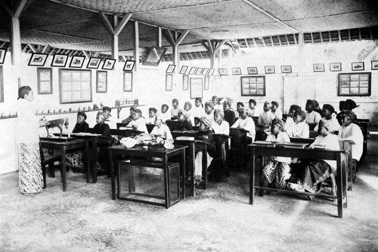 Sekolah pertanian untuk Indonesia sebagai salah satu program dari Politik Etis.
