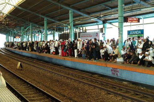 Ada Reuni Akbar 212, 70.000 Penumpang Naik dan Turun di Stasiun Juanda