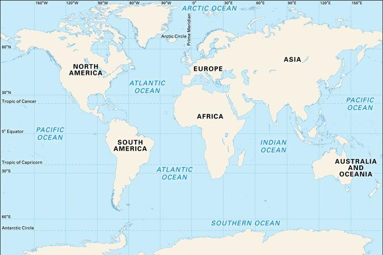 Samudra Bertambah Satu, Peta Dunia Berubah?