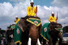 Empat Ekor Gajah Kawal