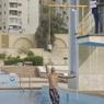 Rekor Guinness, Omar Melompat dari Dalam Air Setinggi 2,3 Meter