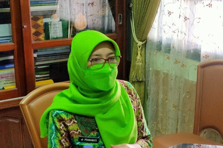 Kepala Dinas Kesehatan Kota Tegal dr. Sri Prima Indraswari