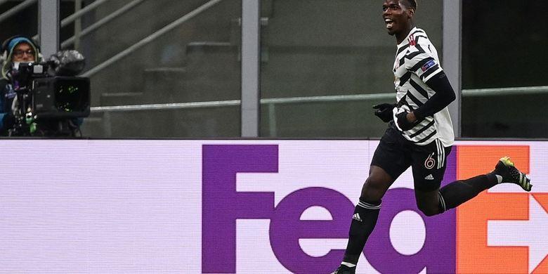 Oops, Bukti kalau Gol Pogba ke Gawang AC Milan Sudah Diramalkan Solskjaer