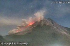 Lontaran Lava Pijar Gunung Merapi Capai Batas Vegetasi, Ini Rekomendasi BPPTKG