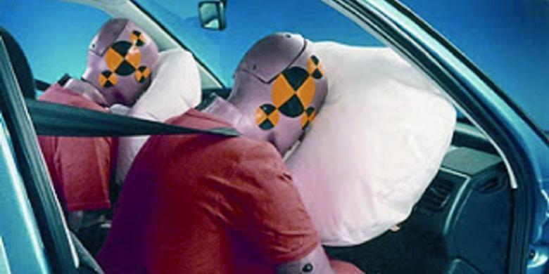 Ilustrasi kantong udara.