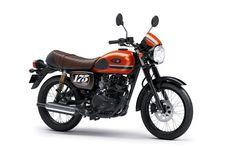 3 Warna Baru Kawasaki W175 Cafe Model 2020