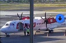 Setelah 20 Menit Terbang, Pesawat Wings Putar Balik ke Bandara Lombok, Diduga Tuas Pintu Darurat Ditarik Penumpang
