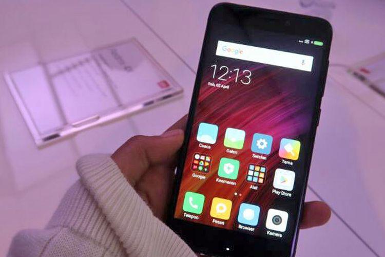 Xiaomi Redmi 4X dengan layar 5,0 inci