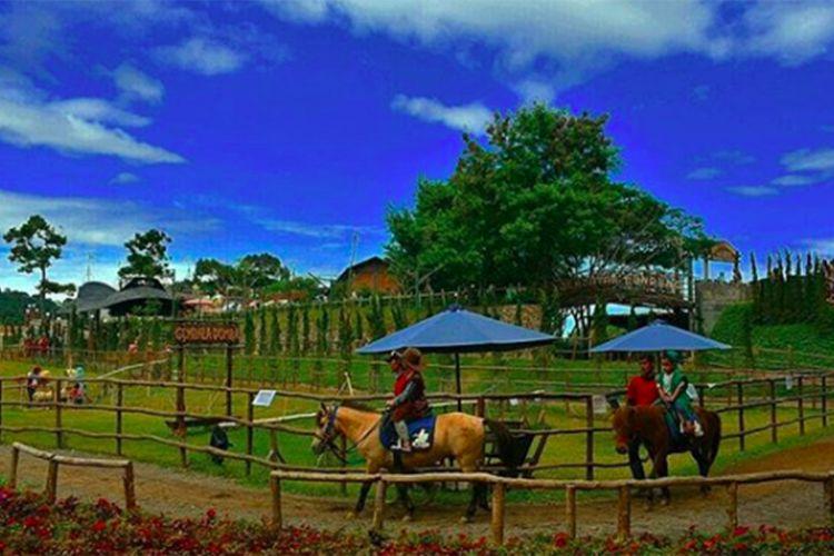Foto yang diambil oleh akun instagram @mtaufiqsulaiman15 di The Ranch Cisarua, merupakan salah satu obyek wisata yang ada di kawasan Puncak, Bogor, Jawa Barat.