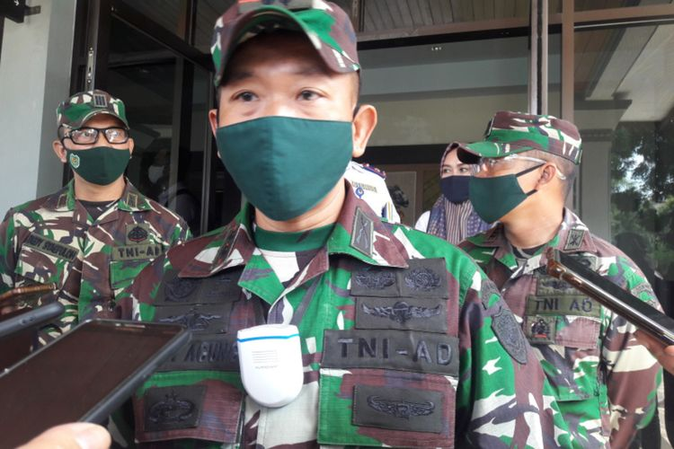 Dandim 0611 Garut Letkol Inf Erwin Agung