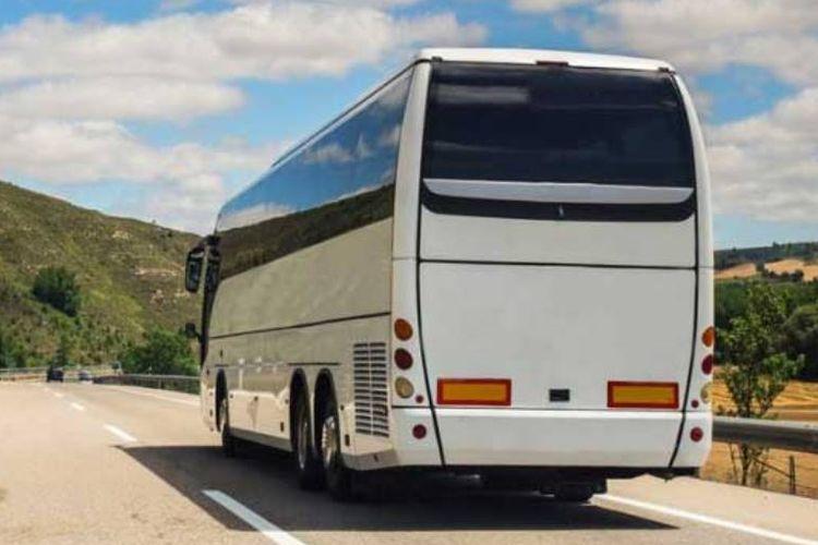 Ilustrasi bus.
