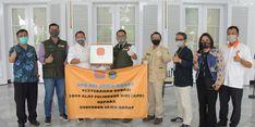 Pemprov Jawa Barat Kembali Terima Donasi Penanganan Covid-19