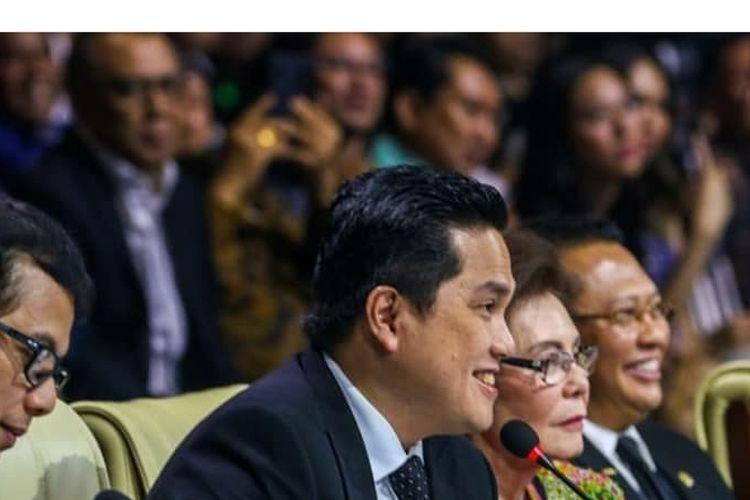 Menteri BUMN Erick Thohir menjadi juri pada Pemilihan Putri Indonesia.